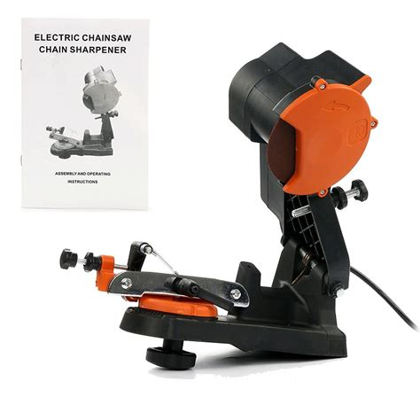 bench mount chainsaw sharpener 4800 rpm electric chain saw sharpener grinder bench wall