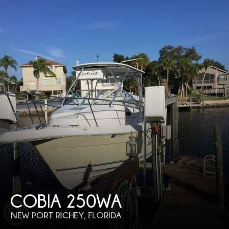 25 foot cobia 25 25 foot motor boat in new port richey