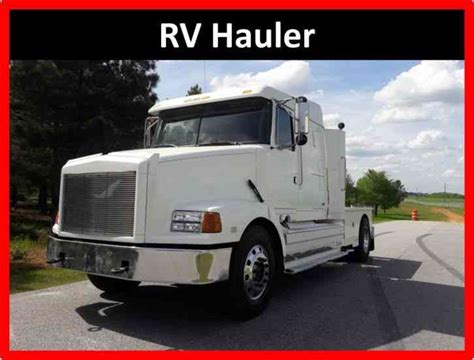 volvo gm heavy truck volvo volvo integral 1995 sleeper semi trucks