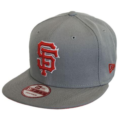 new era san francisco giants mlb state snapback baseball