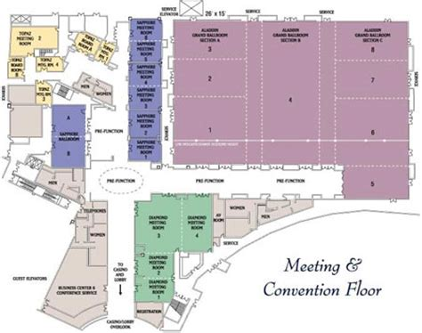 Planet Hollywood Las Vegas Floor Plan | planet hollywood conference center las vegas convention