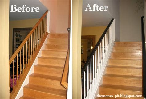 How To Restain A Banister by How To Restain A Banister How To Gel Stain Oak Banisters