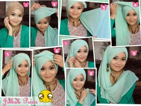 tutorial hijab pesta simple elegan tutorial hijab pesta simple just trendy girls