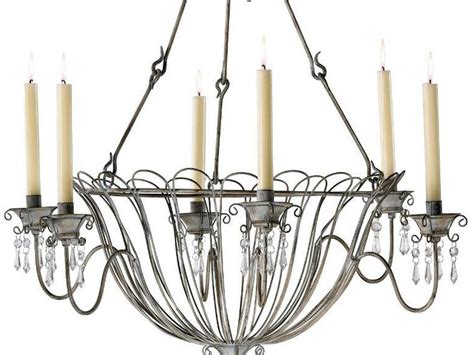 Candle Chandeliers Non Electric Wrought Iron Candle Chandelier Non Electric Home Design Ideas