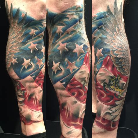 american sleeve tattoo 30 patriotic american flag sleeve amazing