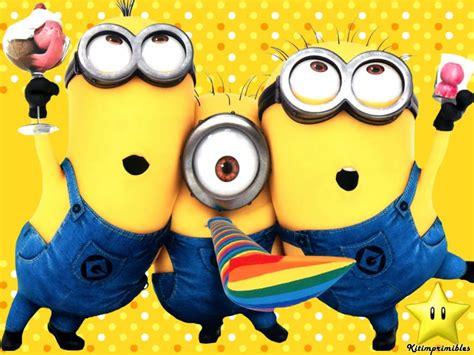 imagenes de minions que digan feliz cumpleaños tarjetas de cumplea 241 os de minions para bajar gratis 3 hd