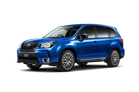 subaru japanese subaru releases 280ps forester ts in japan only 300 will