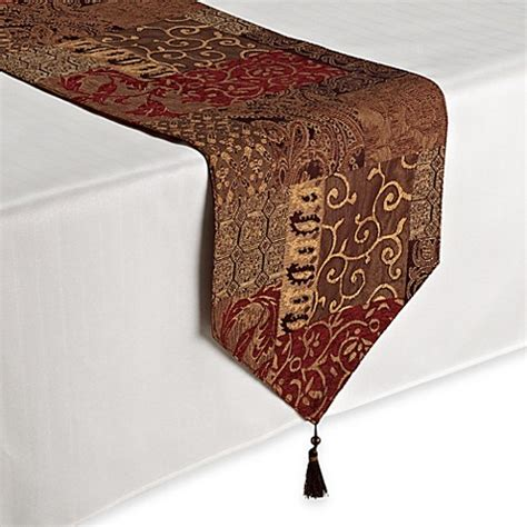 Kitchen Decorating Idea Croscill 174 Galleria Table Runner Bed Bath Amp Beyond