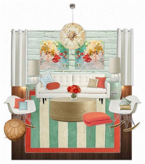 burgundy aqua cream coral room interior 31 best coral turquoise interior images on pinterest