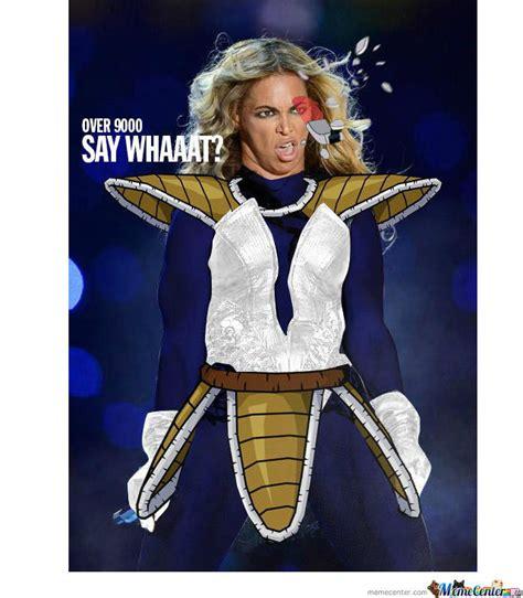 Beyonce Superbowl Meme - beyonce is over 9000 by serkopat meme center