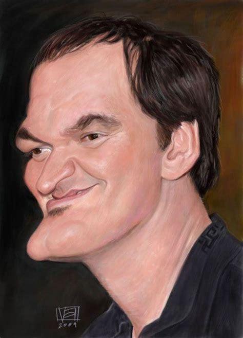 quentin tarantino digital film showcase of 25 cunning celebrity digital caricatures pixel77