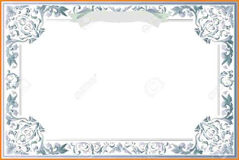 certificate templates blank 8 free printable blank certificate templates sle of