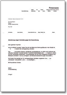 Muster Hausordnung Word Abmahnung Eines Mieters Bei Versto 223 Gegen Die Hausordnung De Musterbrief