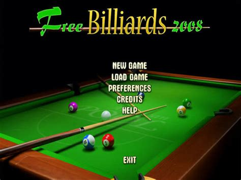 3d pool game for pc free download full version free billiards 2008 download free games 100 free and