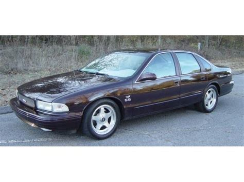 1995 chevrolet impala ss 1994 to 1996 chevrolet impala ss for sale on classiccars