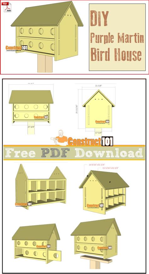 plans for purple martin house best 25 bird house plans ideas on pinterest diy birdhouse bird houses diy and