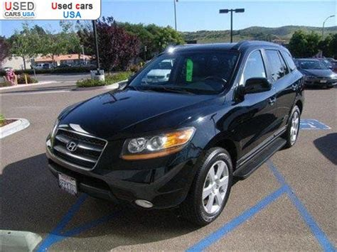 Poway Hyundai Mitsubishi by For Sale 2008 Passenger Car Hyundai Santa Fe Fe Limited
