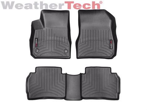 weathertech floor mats floorliner for chevrolet malibu 2016 2017 black ebay