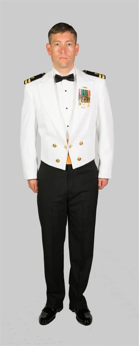 navy officer mess dress dinner dress white jacket