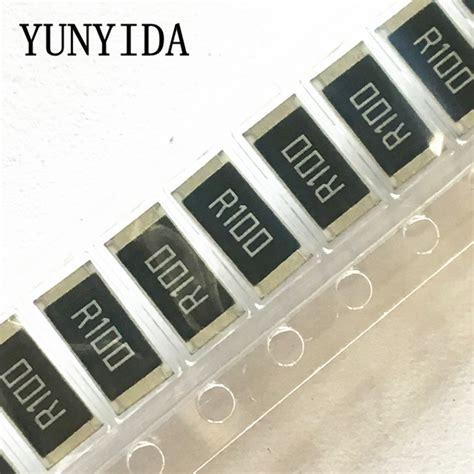 resistor smd r025 50 pcs 2512 smd ᗑ resistor resistor 1w 1 ᐂ 0 1r 0 1 ohm r100 us150
