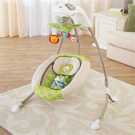 weight limit fisher price rainforest swing com fisher price deluxe cradle n swing