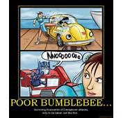Transformers Bumblebee Death