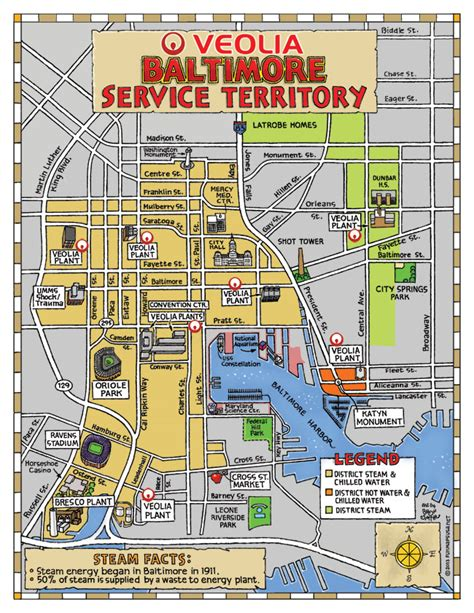 baltimore usa map maps update 21051488 baltimore tourist attractions map