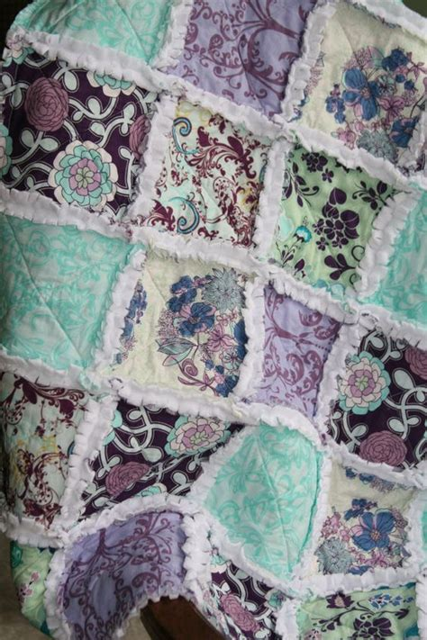 rag quilt rag quilt purple and rag quilt on
