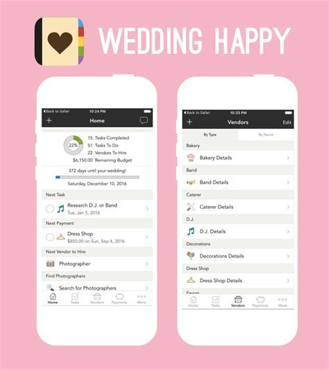 6 Of The Best Apps For Wedding Planning   IMAGE.ie