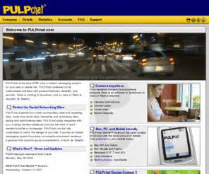 spinchat mobile pulpchat pulpchat html chat and instant