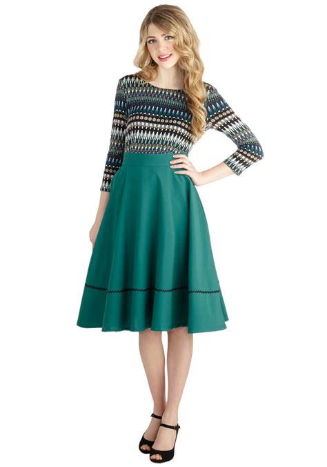 swing rock swing skirt dressed up