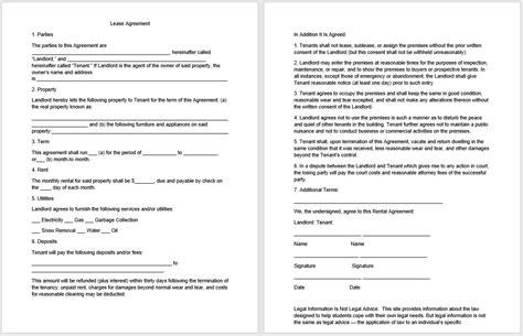 19 Free Rental Agreement Templates Microsoft Office Templates Rental Agreement Templates Microsoft Office