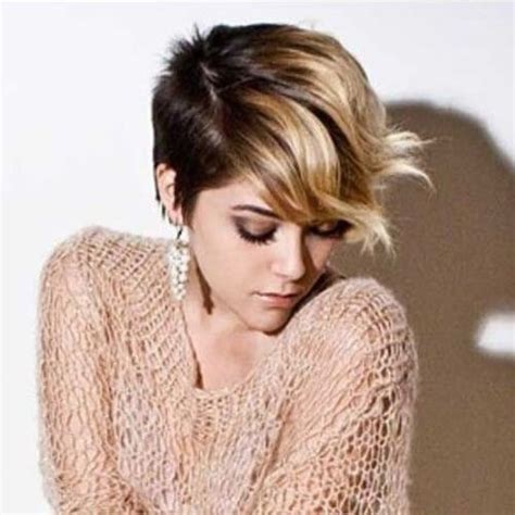 pixie hair cut with a caramel colour 50 short ombre hair ideas for women hair motive hair motive