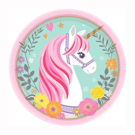 imagenes unicornios infantiles comprar platos unicornio m 225 gico peque 241 os 8 online env 237 o