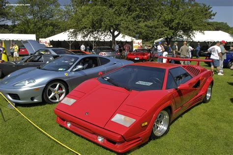 89 Lamborghini Countach 1989 Lamborghini Countach 25th Anniversary Images Photo
