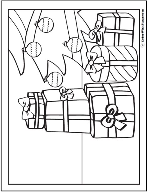coloring pictures of christmas presents christmas gifts coloring pages