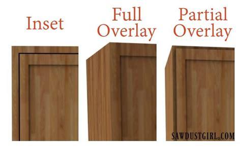 overlay cabinet doors choosing cabinet door hinges sawdust 174