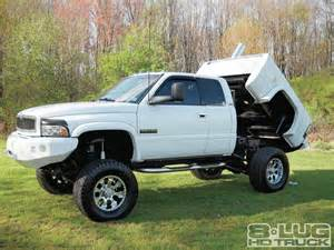 dodge trucks with lift kits and stacks build your own dump