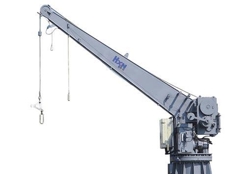 boat winch arm marine davit and crane for sale china marine davit and