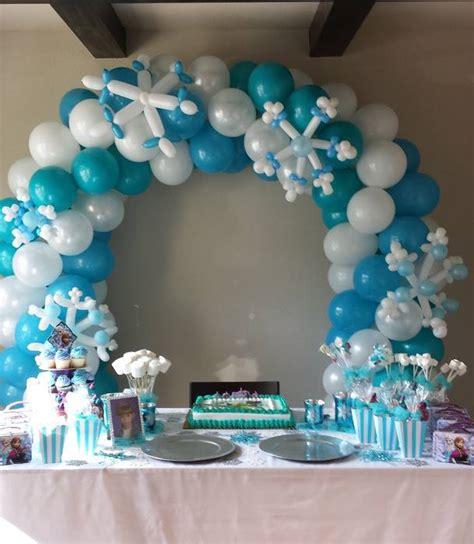 arreglos con globos de frozen decoraci 243 n con globos 57 ideas increibles para fiestas y