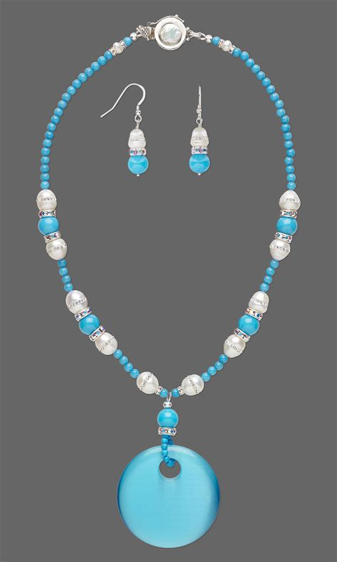 focal for jewelry jewelry design single strand necklace and earring set