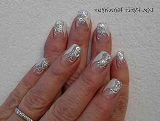 Deco Ongle Pour Noel by Deco Ongles En Gel Pour Noel Deco Ongle Fr