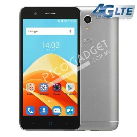 Handphone Zte Blade A711 zte blade a510 4g lte grey offici end 9 8 2017 10 15 am