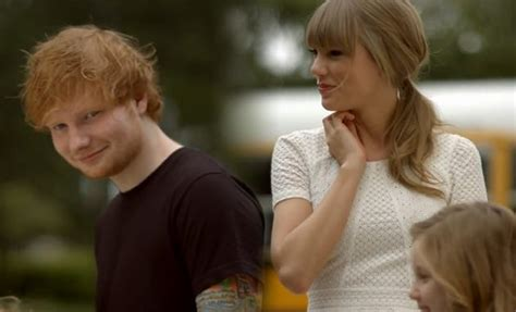 ed sheeran ft taylor swift 5 hotties who have appeared in taylor swift s music videos