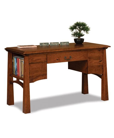Library Desk by Artesa Library Desk Amish Direct Furniture