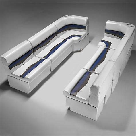 Pontoon Boat Upholstery by Pontoon Boat Seats Cfg94a Deckmate 174 Boat Seats