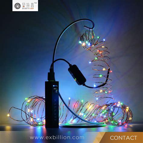 Solar Mini Lights Led String 2m Battery Operated Copper Battery Operated Solar Lights