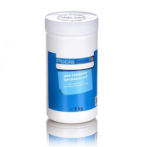 chlor shop 1 kg poolsbest 174 ph heber granulat pool chlor shop
