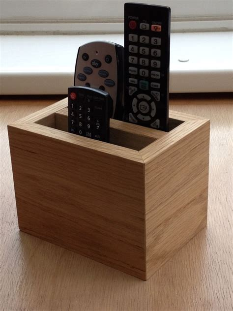 oak remote holder ebay
