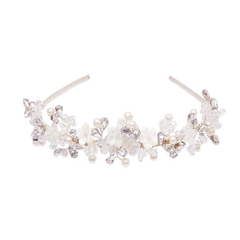 Handmade Tiara - handmade magnolia wedding tiara by rosie willett designs